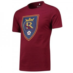 Real Salt Lake Core T Shirt - Claret - Mens