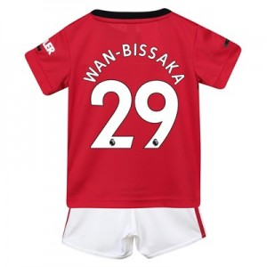 Manchester United Home Baby Kit 2019 - 20 with Wan-Bissaka 29 printing