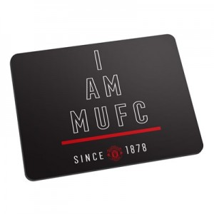 Manchester United Personalised I Am MUFC Mouse Mat