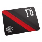 Manchester United Personalised Stripe Mouse Mat