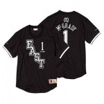 NBA 2004 All Star East Tracy McGrady Black & White Mesh Name & Number Crew - Mens