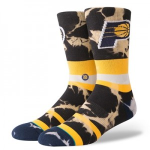 Indiana Pacers Stance Acid Wash Sock - Mens