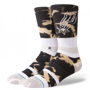 San Antonio Spurs Stance Acid Wash Sock - Mens