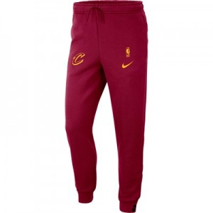 Cleveland Cavaliers Nike Courtside Pant - Team Red - Mens