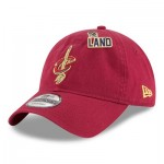 Cleveland Cavaliers New Era Official Draft 9TWENTY Adjustable Cap - Mens