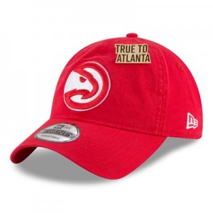 Atlanta Hawks New Era Official Draft 9TWENTY Adjustable Cap - Mens