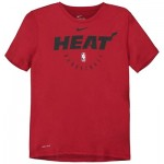 Miami Heat Nike Elite Practise Short Sleeve Top - Youth