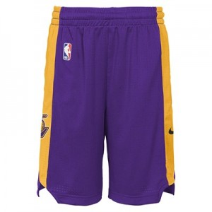 Los Angeles Lakers Nike Practise Shorts - Youth