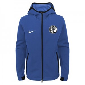 Dallas Mavericks Dallas Mavericks Nike Thermaflex Showtime Jacket - Youth