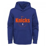 New York Knicks Nike Elite Practise Spotlight Fleece Hoodie - Youth