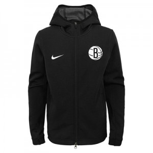 Brooklyn Nets Brooklyn Nets Nike Thermaflex Showtime Jacket - Youth