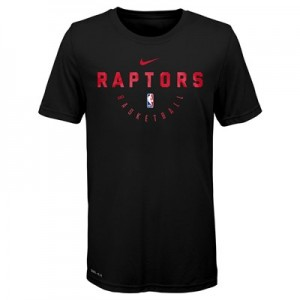 Toronto Raptors Nike Elite Practise Short Sleeve Top - Youth