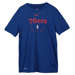 Philadelphia 76ers Nike Elite Practise Short Sleeve Top - Youth