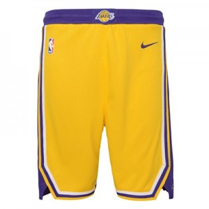 Los Angeles Lakers Nike Icon Swingman Short - Youth