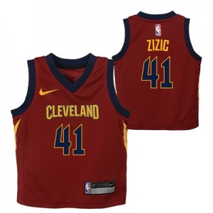 Cleveland Cavaliers Nike Icon Replica Jersey - Ante Zizic - Infant