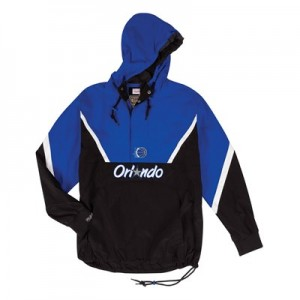 Orlando Magic Half Zip Anorak Jacket By Mitchell & Ness - Mens