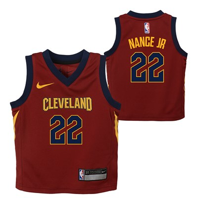 Cleveland Cavaliers Nike Icon Replica Jersey - Larry Nance Jr. - Infant