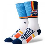 Oklahoma City Thunder Shortcut Sock - Mens
