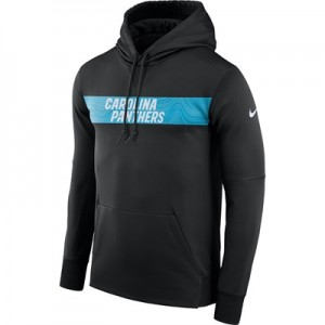 Carolina Panthers Nike Therma Hoodie PO - Mens