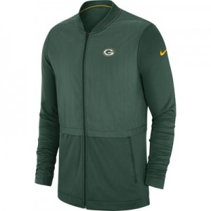 Green Bay Packers Nike FZ Elite Hybrid Jacket - Mens