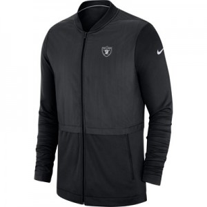 Oakland Raiders Nike FZ Elite Hybrid Jacket - Mens
