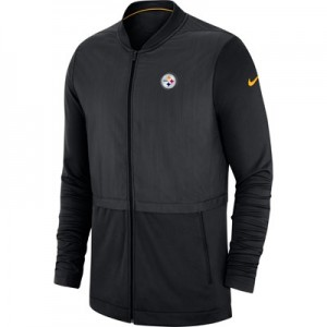 Pittsburgh Steelers Nike FZ Elite Hybrid Jacket - Mens