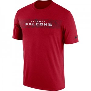 Atlanta Falcons Nike Dri-Fit Onfield Legend Seismic T-Shirt - Mens