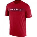 Houston Texans Nike Dri-Fit Onfield Legend Seismic T-Shirt - Mens