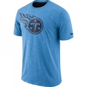 Tennessee Titans Nike Dri-Fit Legend Slub On-Field T-Shirt - Mens