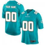Miami Dolphins Home Game Jersey - Custom - Mens