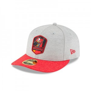 Tampa Bay Buccaneers New Era Official Sideline Road Low Profile 59FIFTY Fitted Cap