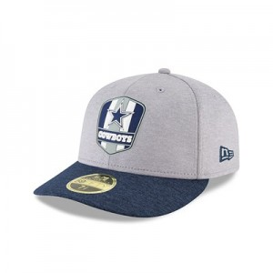 Dallas Cowboys New Era Official Sideline Road Low Profile 59FIFTY Fitted Cap