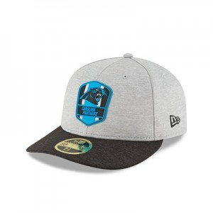 Carolina Panthers New Era Official Sideline Road Low Profile 59FIFTY Fitted Cap