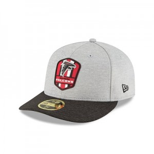 Atlanta Falcons New Era Official Sideline Road Low Profile 59FIFTY Fitted Cap