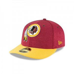 Washington Redskins New Era Official Sideline Home Low Profile 59FIFTY Fitted Cap