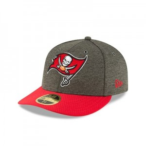 Tampa Bay Buccaneers New Era Official Sideline Home Low Profile 59FIFTY Fitted Cap