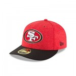 San Francisco 49ers New Era Official Sideline Home Low Profile 59FIFTY Fitted Cap
