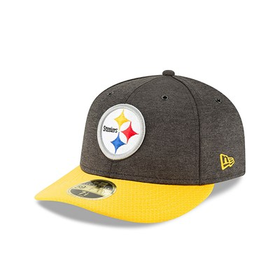 Pittsburgh Steelers New Era Official Sideline Home Low Profile 59FIFTY Fitted Cap