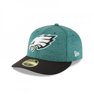 Philadelphia Eagles New Era Official Sideline Home Low Profile 59FIFTY Fitted Cap