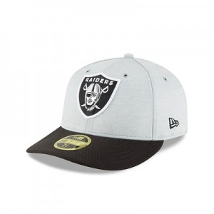 Oakland Raiders New Era Official Sideline Home Low Profile 59FIFTY Fitted Cap