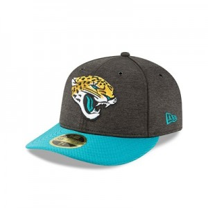 Jacksonville Jaguars New Era Official Sideline Home Low Profile 59FIFTY Fitted Cap