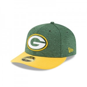 Green Bay Packers New Era Official Sideline Home Low Profile 59FIFTY Fitted Cap