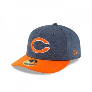 Chicago Bears New Era Official Sideline Home Low Profile 59FIFTY Fitted Cap