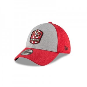 San Francisco 49ers New Era Official Sideline Road 39THIRTY Stretch Fit Cap
