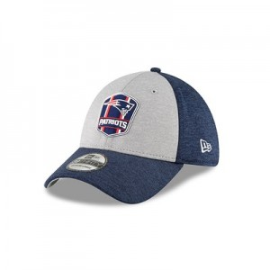 New England Patriots New Era Official Sideline Road 39THIRTY Stretch Fit Cap