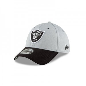 Oakland Raiders New Era Official Sideline Home 39THIRTY Stretch Fit Cap