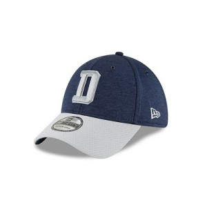 Dallas Cowboys New Era Official Sideline Home 39THIRTY Stretch Fit Cap
