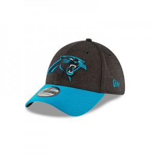 Carolina Panthers New Era Official Sideline Home 39THIRTY Stretch Fit Cap