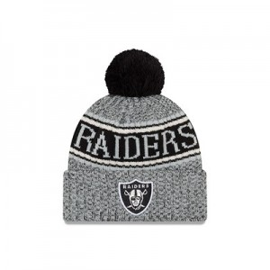 Oakland Raiders New Era Official Cold Weather Reverse Team Colour Sport Knit