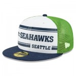 Seattle Seahawks New Era 2019 Official Home Sideline 1966-76 59FIFTY Fitted Cap